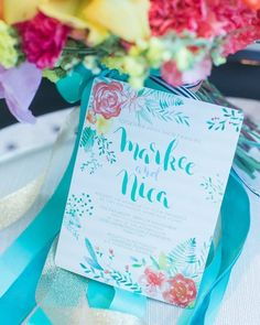 A bubbly invite to end your week! Good night!  Photo: Marky Cantalejo     #watercolorinvite #weddinginviteph #wedding #weddingsph #watercolorph #calligraphy #calligraphyph #cebucalligraphy #calligrapher #flourishforum #handwritten #handdrawn #artinvite #art #rsvp #brushcalligraphy #love #passion #firstofaprildesigns #firstofaprilinvites #FOAinvites #firstofapril