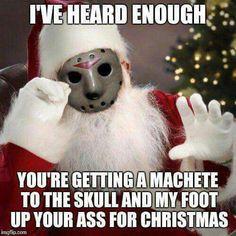 Jason Christmas Machete
