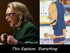 Spot on!! Political humor + beavis, who could want more