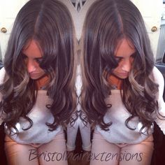 Full head of micro ring wefts