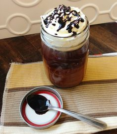 Homemade Mocha Decadence featuring our new flavored coffee: