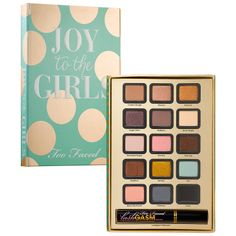 Too Faced Joy to the Girls palette #Sephora #Giftopia #gifts #holiday2013
