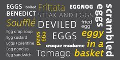New in Design: Monotype has a new typeface for you. #type #typography #monotype #design