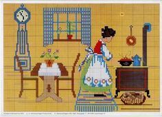 ru / Photo # 17 - OOE - Mosca, You can create really particular patterns for textiles with cross stitch. Cross stitch designs may very nearly surprise you. Cross stitch beginners may make the designs they want without difficulty. Cross Stitch Charts, Cross Stitch Designs, Cross Stitch Patterns, Cross Stitching, Cross Stitch Embroidery, Cross Stitch Kitchen, Cross Stitch Pictures, Crochet Bunny, Crochet Cross