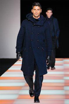 Sfilata Moda Uomo Giorgio Armani Milano - Autunno Inverno 2012-13 - Vogue
