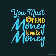 """""""typography hand lettering money quote"""" by Chris olivier Money Quotes, Skin Case, Daily Motivation, Dresses With Leggings, Make More Money, You Must, Hand Lettering, Typography, Neon Signs"""