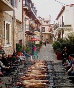 Arachova - Greek Easter (Pascha), always associated with the first signs of Spring, is definitely my favourite Greek holiday. For the Greeks it's a most sacred holiday filled with deeply-rooted religious ceremonies and many traditional festivities enjoyed with family and friends.