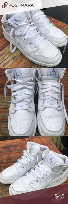Air Jordan 1 White Air Jordan 1. Price is negotiable! Air Jordan Shoes Sneakers