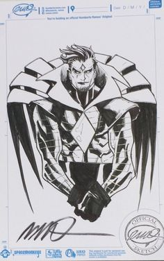 Mr. Sinister by Humberto Ramos