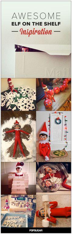 Elf and the Shelf Inspiration!