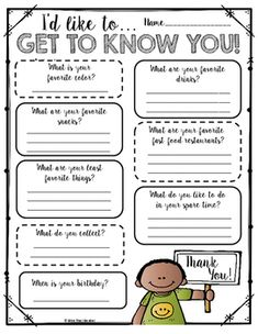 I created this resource to help me get to know my staff better! As teachers, we like to bring in treats and goodies to show appreciation for our aides and others on our school campus, but we often find ourselves not knowing what they like. Place this simple questionnaire in the mailboxes of colleagues, or provide it to your aides at the beginning of the year to help you plan for your year!
