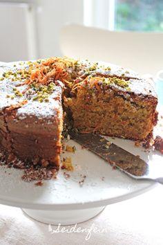 seidenfeins Blog vom schönen Landleben: Zimtiger Karotten-mandelkuchen * cinnamon flavoured carrot & almond cake
