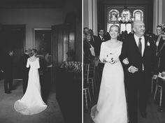 Understated Elegance ~ A Jesús Peiró Gown For a Nonsuch Mansion Wedding in Surrey