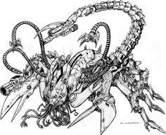 Artist: Chuck Walton  -  Legion Collector  -  http://chuckwalton.deviantart.com/  -  #ChuckWalton