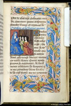 Book of Hours, M.62 fol. 160r - Images from Medieval and Renaissance Manuscripts - The Morgan Library & Museum