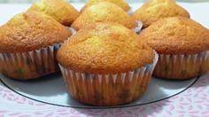 Portakallı Havuçlu Muffin Kek Tarifi - Resimli Kolay Yemek Tarifleri