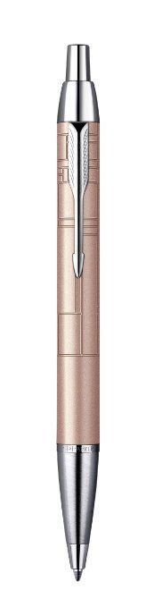 Parker IM Premium Ball Pen with Gift Box - Metallic Pink: New Pen, Metallic Pink, Writing Instruments, Color Rosa, Ballpoint Pen, All Brands, Fountain Pen, Can Opener, Eyeliner