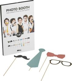 Bring fun to the party with photo booth accessories