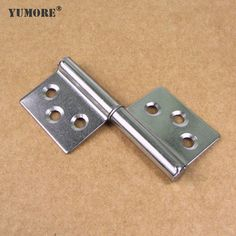 Stainless entry door hinges-flag shaped