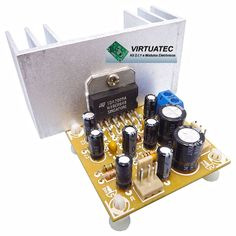Amplificador TDA2009A  12.5W+12.5W