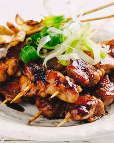 Teriyaki Chicken Skewers ... So Yum!