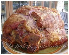 Le palais gourmand: Jambon à la mijoteuse de Campbell's Chum, Roast Beef, Charcuterie, Crockpot, Slow Cooker, French Toast, Paleo, Pork, Food And Drink