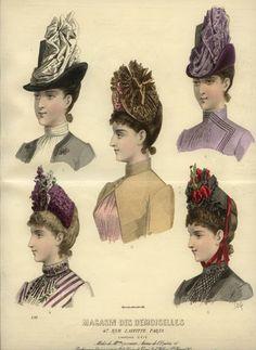 Victorian hats   Temps d'élégance