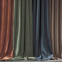 Latest Free velvet curtain Strategies , Nyodhi stone washed cotton simple velvet curtain panel AM PM The Curtain Fabric, Drapes Curtains, Velvet Curtains Bedroom, Velvet Drapes, Drop Cloth Curtains, Curtain Headings, Window Sizes, Curtain Accessories, Custom Drapes