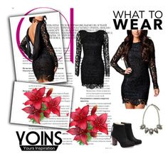"""""""YOINS 8"""" by lejla-cergic ❤ liked on Polyvore featuring polyvoreeditorial and yoins"""