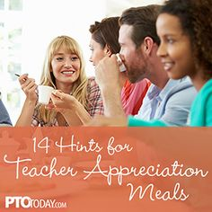 PTO Today Blog» Blog Archive » How Much Should PTOs and PTAs Spend on Teacher Appreciation Luncheons?