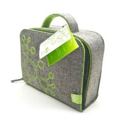 Tegu Travel Tote Heather - Grey/Green