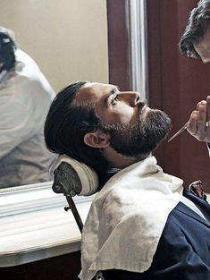 What Do I Ask The Barber When I Get My Beard Trimmed? #Men #Grooming #Tips