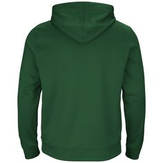 8dc987fc0 Show off your fandom in this Green Bay Packers Armor Synthetic pullover  hoodie from Majestic.