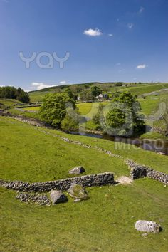 Langstrothdale in Yorkshire Dales North Yorkshire England