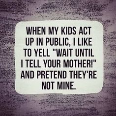 Mom Jokes, Acting, Told You So, Kids, Children, Mama Jokes, Boys, Children's Comics, Boy Babies