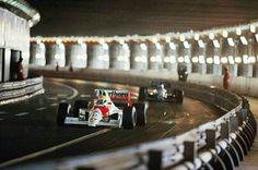 #27 Ayrton Senna...Honda Marlboro McLaren...McLaren MP4/5B...Motor Honda RA100E V10 3.5...GP Monaco 1990
