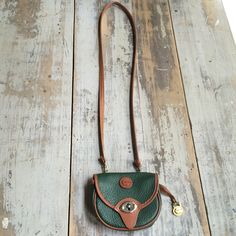 A personal favorite from my Etsy shop https://www.etsy.com/listing/188180337/vintage-green-dooney-bourke-leather
