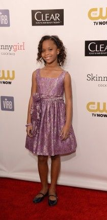 Quvenzhane Wallis -- the world's youngest Academy Award nominee for BEST ACTRESS!!!! Wow. She's only nine years old, and she's Black to top it off! So proud.