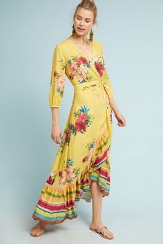 b5d9d6dc4 Shop the Farm Rio Marketplace Wrap Dress and more Anthropologie at  Anthropologie today. Read customer