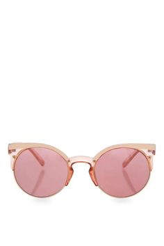 LEXI Clubmaster Sunglasses - Topshop