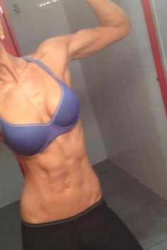 Girl muscle