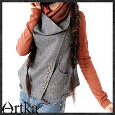 Женская жилетка Artka a07888 -*