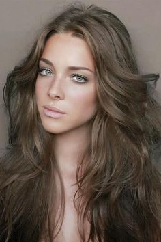 15 Gorgeous Hair Color Ideas You've Got to See - Medium and dark browns with cool undertones are flattering on most complexions