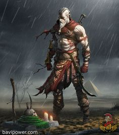 Tagged with art, gaming, anime, awesome, god of war; God of war Art Kratos God Of War, Viking Power, Viking Warrior, Dnd Characters, Fantasy Characters, Fantasy Character Design, Character Art, Dark Fantasy, Fantasy Art