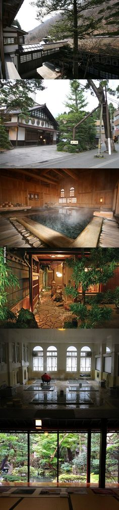 This hotel in Japan has been functioning since 717. Yep, 1296 years.