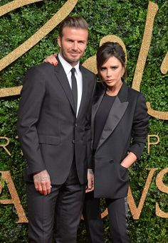Pin for Later: We're Getting Major Flashbacks From David and Victoria Beckham's Matching Outfits