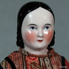 Sophia Smith China Doll with Youthful Appearance, Pink Tint, Original