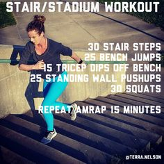 Stair and Stadium Workout