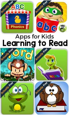 Apps for kids who are learning to read that are actually free. If you are teaching your child to read, you should check these out! #AmznUnderground #ad
