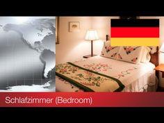 #13: LEARN GERMAN: BEDROOM / LERNE DEUTSCH: SCHLAFZIMMER